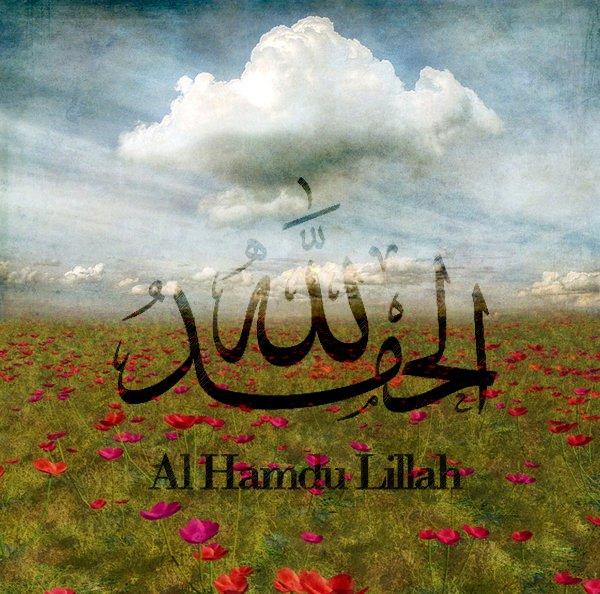 Alhamdulillah - Alhamdulillah Calligraphy and Typography ...