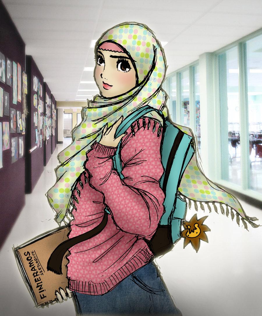 Muslims Islamic Muslim Hijab Fashion Girl Inspiring Picture On Favim ...