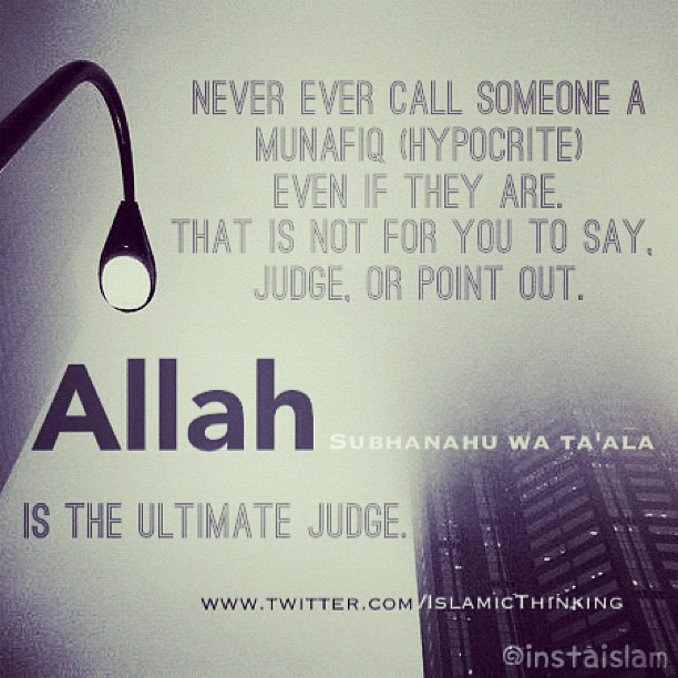 Quotes About Hypocrites Hypocite - islamic quotesQuotes About Hypocrites In Islam
