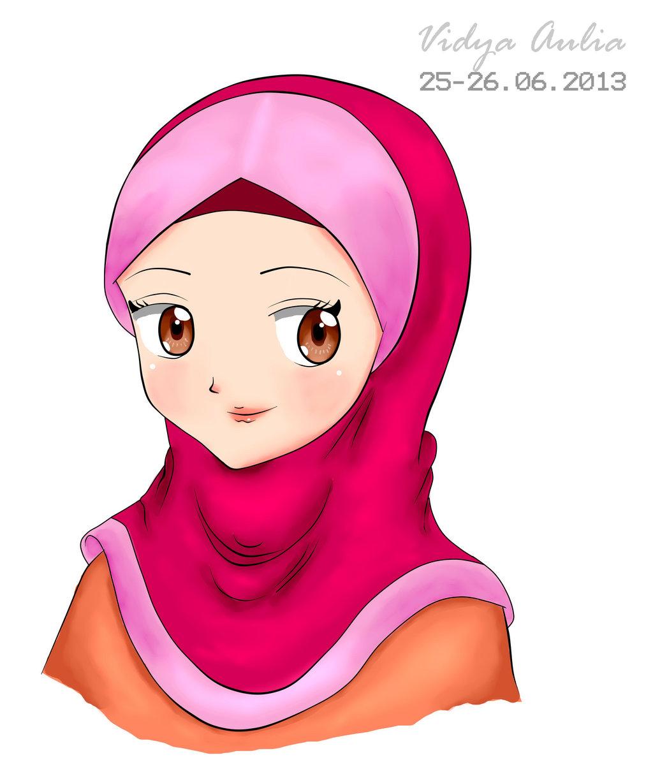 Gambar Kartun Berhijab Cantik: Muslim Manga And Anime Drawings