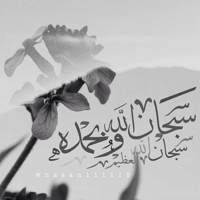 SubhanAllah wa Bihamdihi Calligraphy and Typography ...