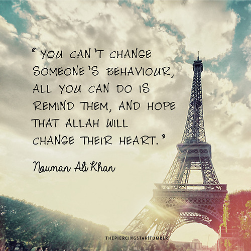 Nouman Ali Khan quote - Islamic Quotes | IslamicArtDB.com