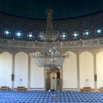 Inside Regent's Park Mosque