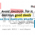 Avoid Jealousy (Prophet Muhammad ﷺ Quote)