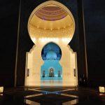 Sheikh Zayed Grand Mosque in Abu Dhabi, United Arab Emirates