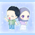 Chibi Muslim Couple