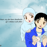 Manga Muslim Couple