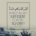 Is Not Allah Sufficient