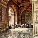 Noon Prayer at Jama Masjid (Old Delhi, India)