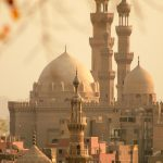 Mosque of Sultan Hassan in Old Cairo