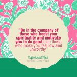 Mufti Ismail Menk Quote: Be in the company of …