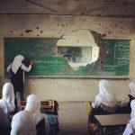 Classroom in Gaza, Palestine