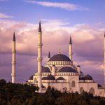 Mosque in Yeditepe, Turkey
