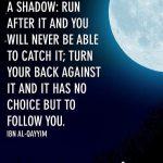 Ibn al-Qayyim: This World is Like a Shadow